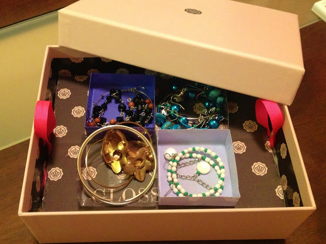 Glossybox DIY Idea 1 - Earring Storage box step by step