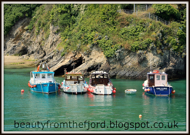 Cornwall Scenery -  Newquay Harbour