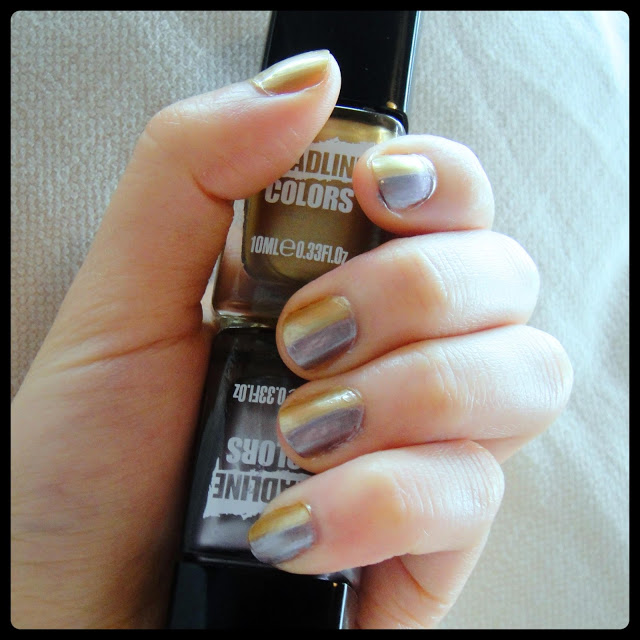 Headline Colors Nail Art and Review Glamour Spotlight