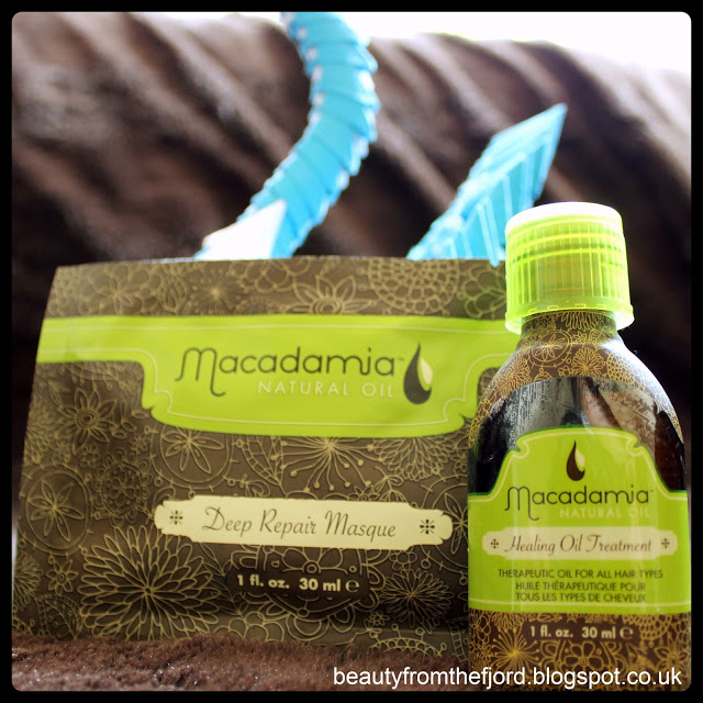 Macadamia Natural Oil Healing Oil Treatment and Deep Repair Masque Review