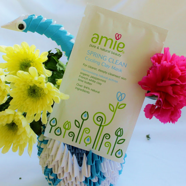 Amie Spring Clean Cooling Clay Mask Review