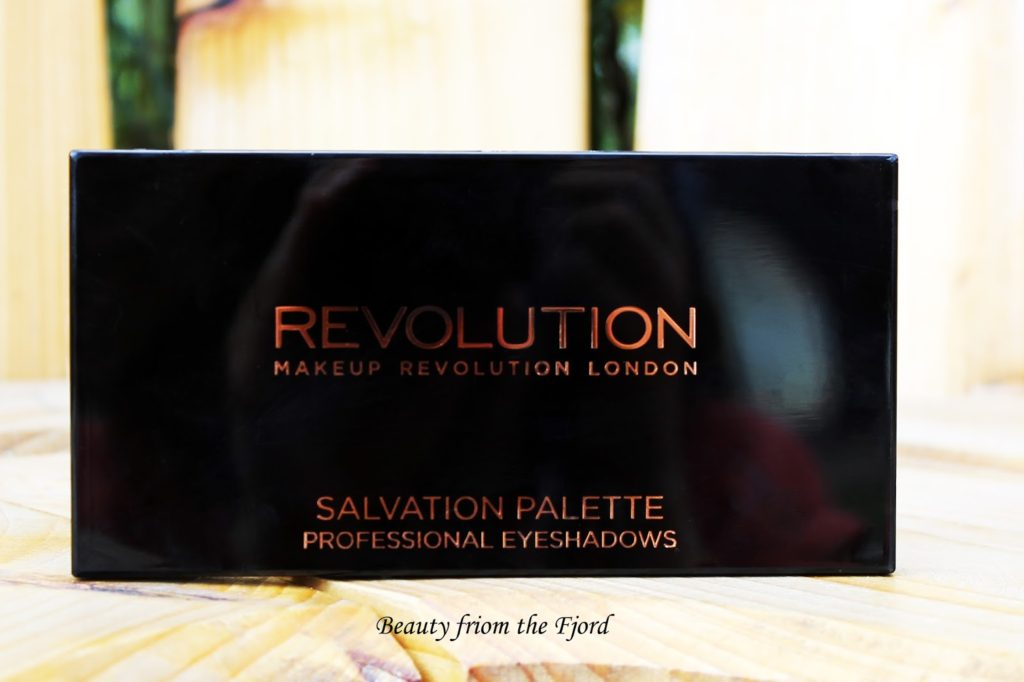Makeup Revolution Salvation Palette Run Boy Run Review and Swatches