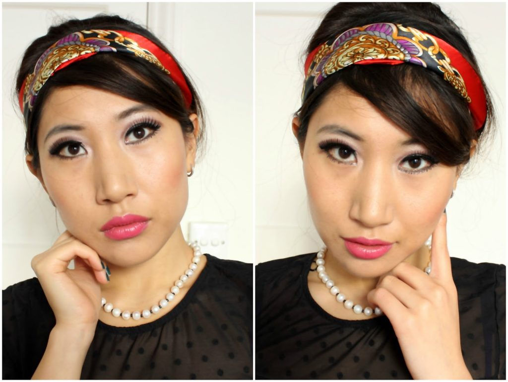 Makeup Challenge: 60s Twiggy Inspired Look