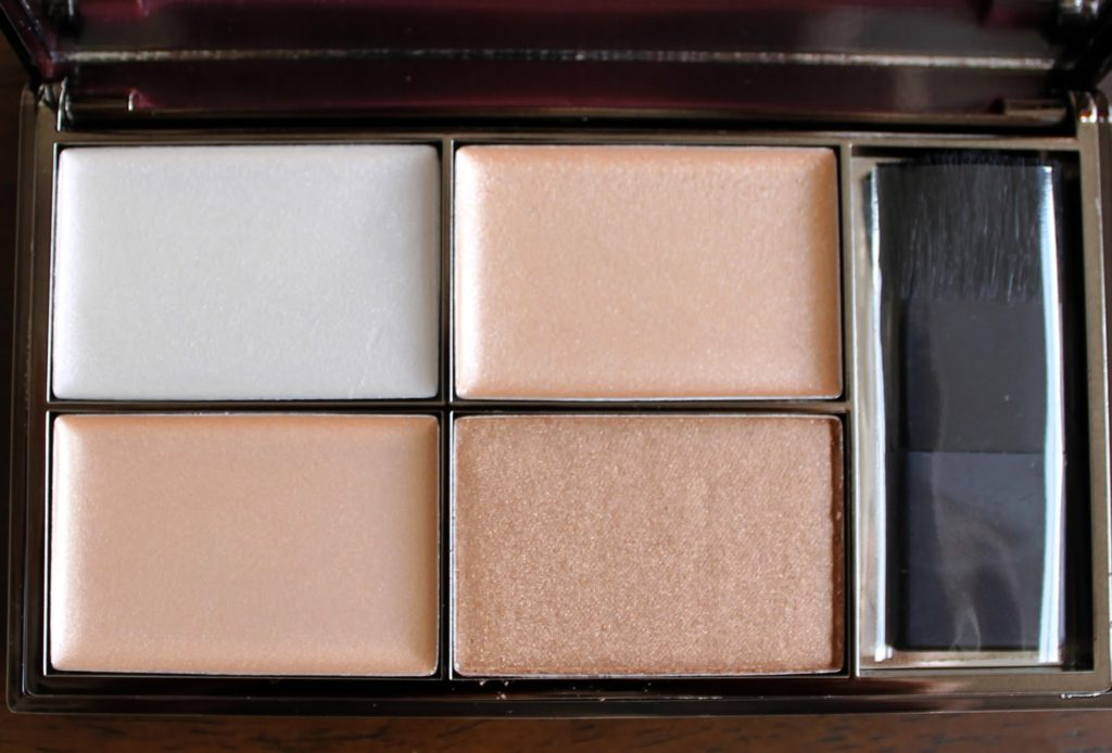 Sleek Makeup Gold Press Night AW14 Product Launches: Precious Metals Highlighting Palette Swatches