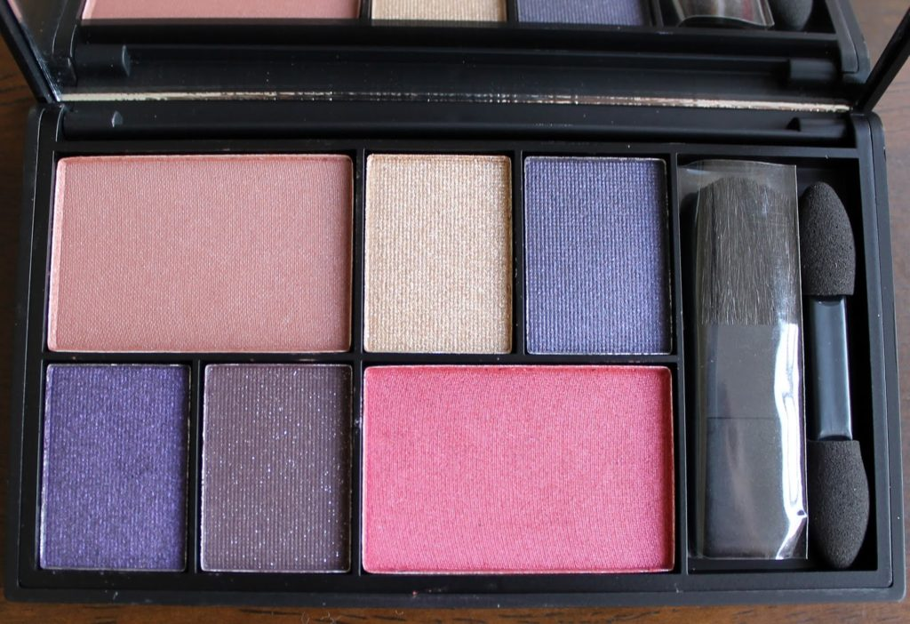 Sleek Makeup Gold Press Night AW14 Product Launches:Eye & Cheek Palette - See you at Midnight Swatches