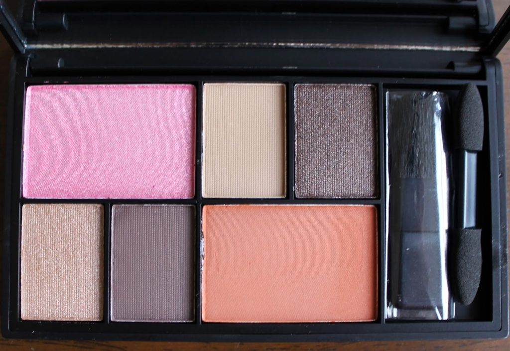 Sleek Makeup Gold Press Night AW14 Product Launches: Eye & Cheek Palette - Dancing til Dusk Swatches