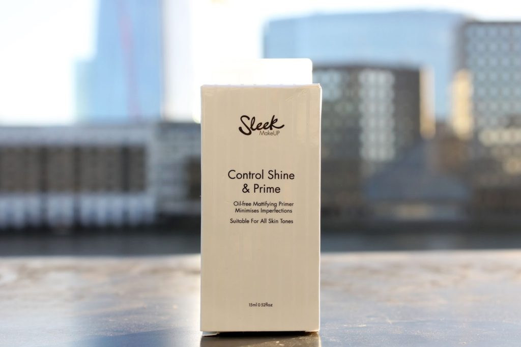 Sleek Makeup Control Shine & Prime Review & Swatches