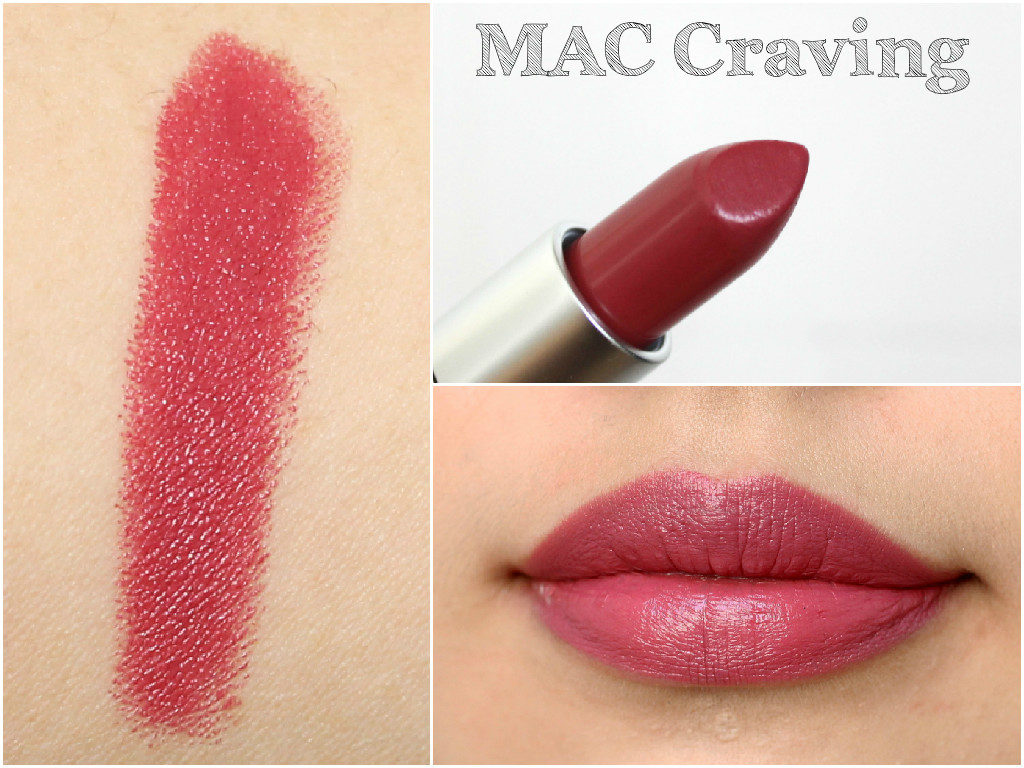 MAC Lipstick Haul Including Swatches: Craving
