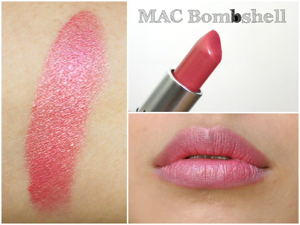 MAC Lipstick Swatch Book - MAC Bombshell