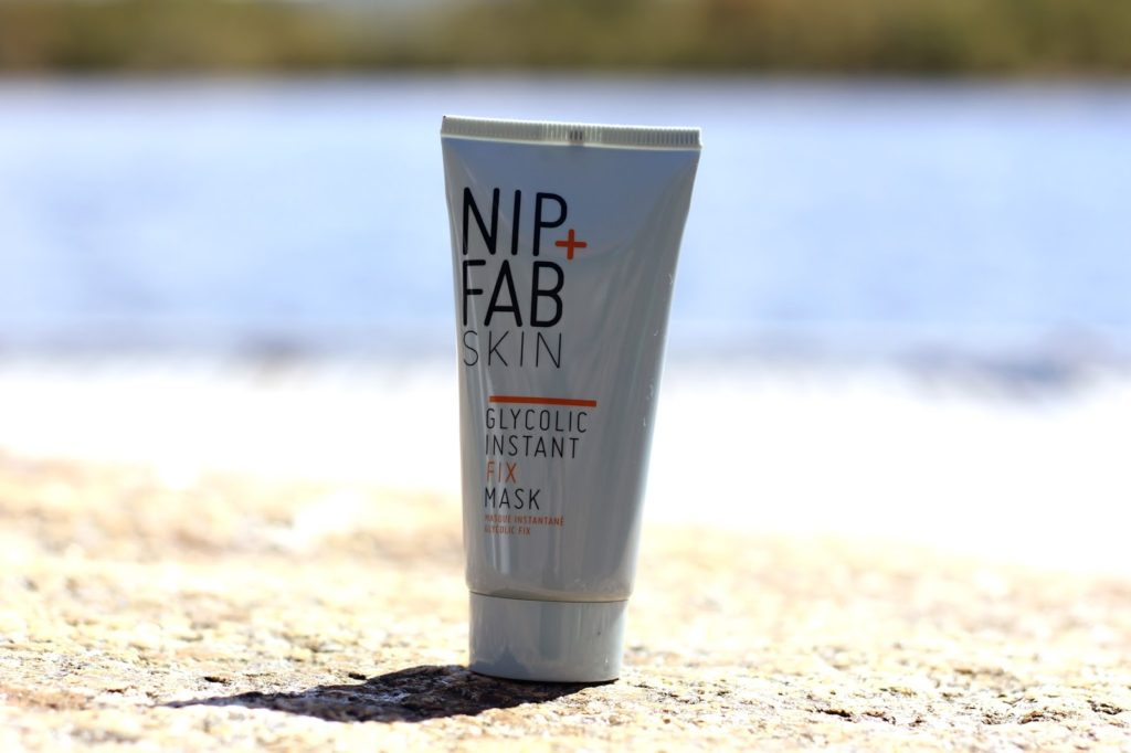 Nip+Fab Glycolic Fix Range Review - Nip+Fab Glycolic Instant Fix Mask