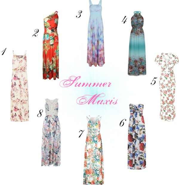 Wishlist: Floral Summer Maxis