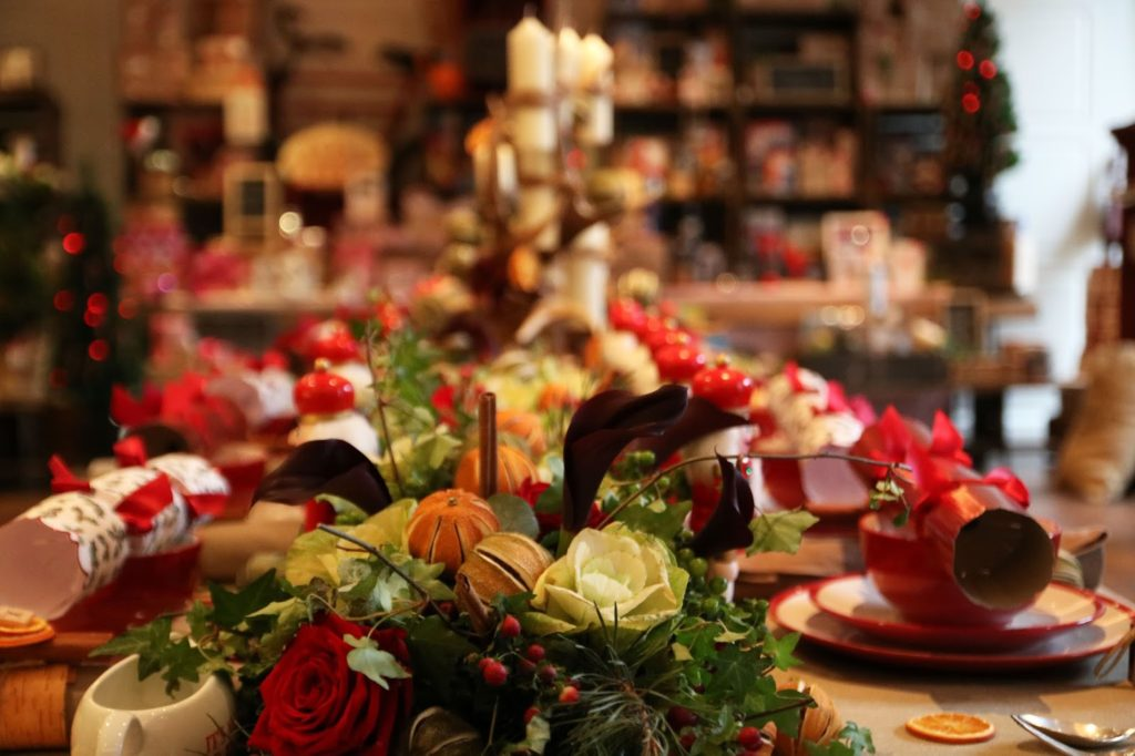 Christmas in July - Tesco Press Show 2015 - Pretty Decorations