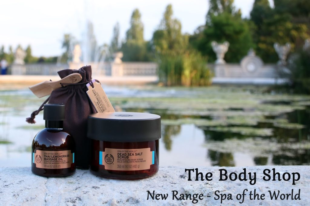 The Body Shop's New Range: Spa of the World
