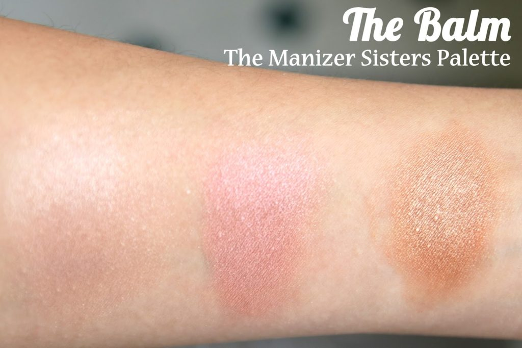 The Balm - The Manizer Sisters Palette Review & Swatches: Marry Lou Manizer, Cindy-Lou Manizer and Betty-Lou Manizer