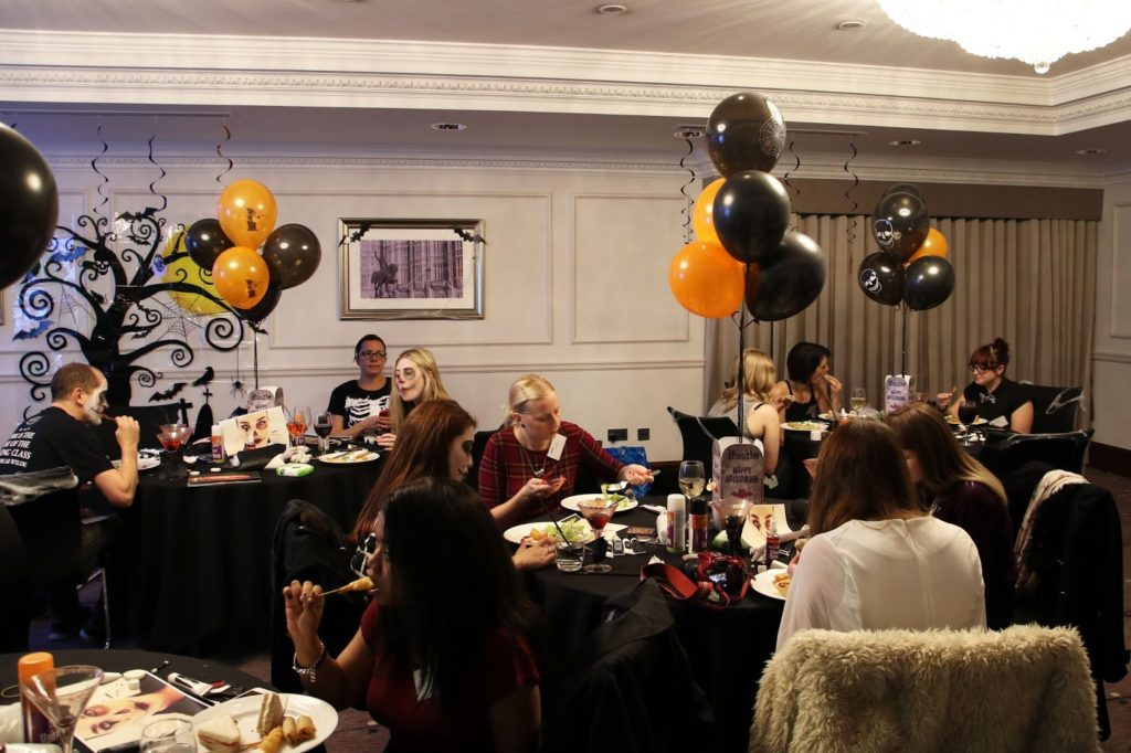 #ThistleHalloween: Halloween Makeup Masterclass at Thistle Holborn, the Kingsley