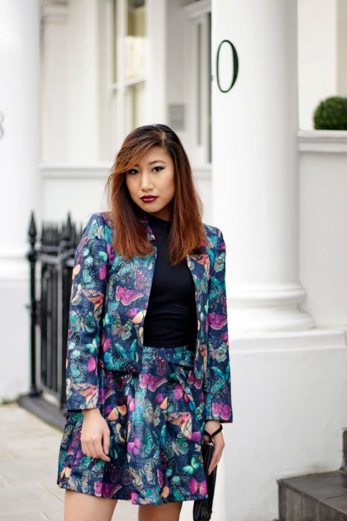 Outfit: Yumi Butterfly Prints for Autumn & Winter