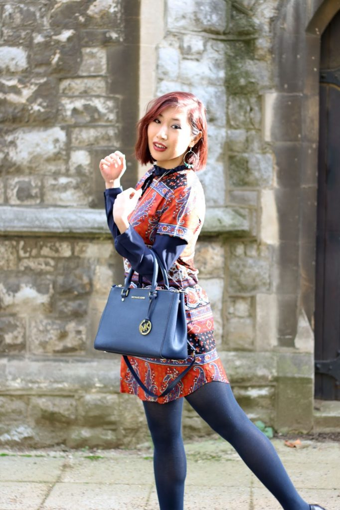 Outfit: Boohoo Dress for Autumn - geek glam