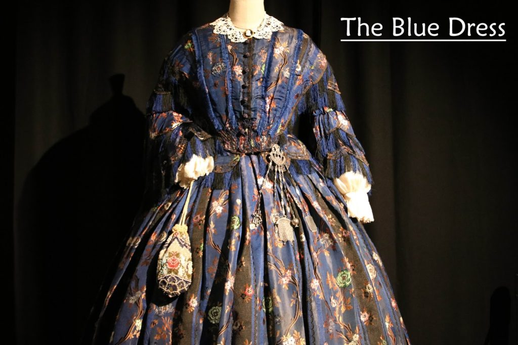 Dressed by Angels: Costume Exhibition - The Blue Dress