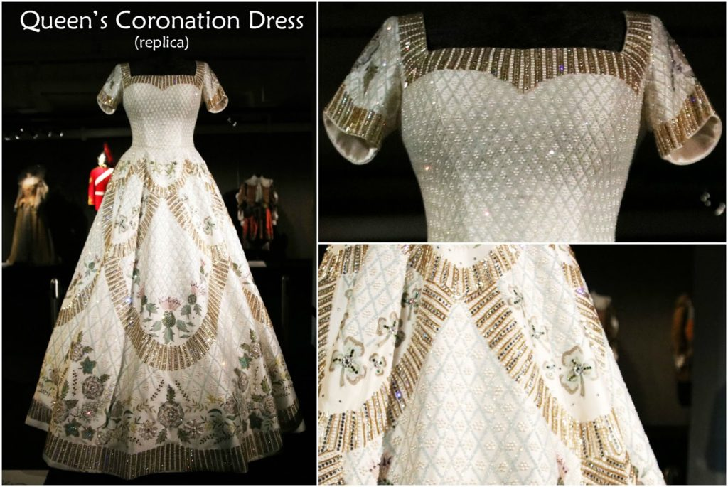 Dressed by Angels: Costume Exhibition - Queen's Coronation Gown