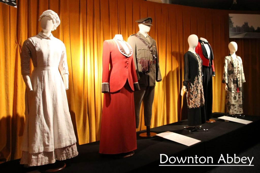 Dressed by Angels: Costume Exhibition - Downton Abbey