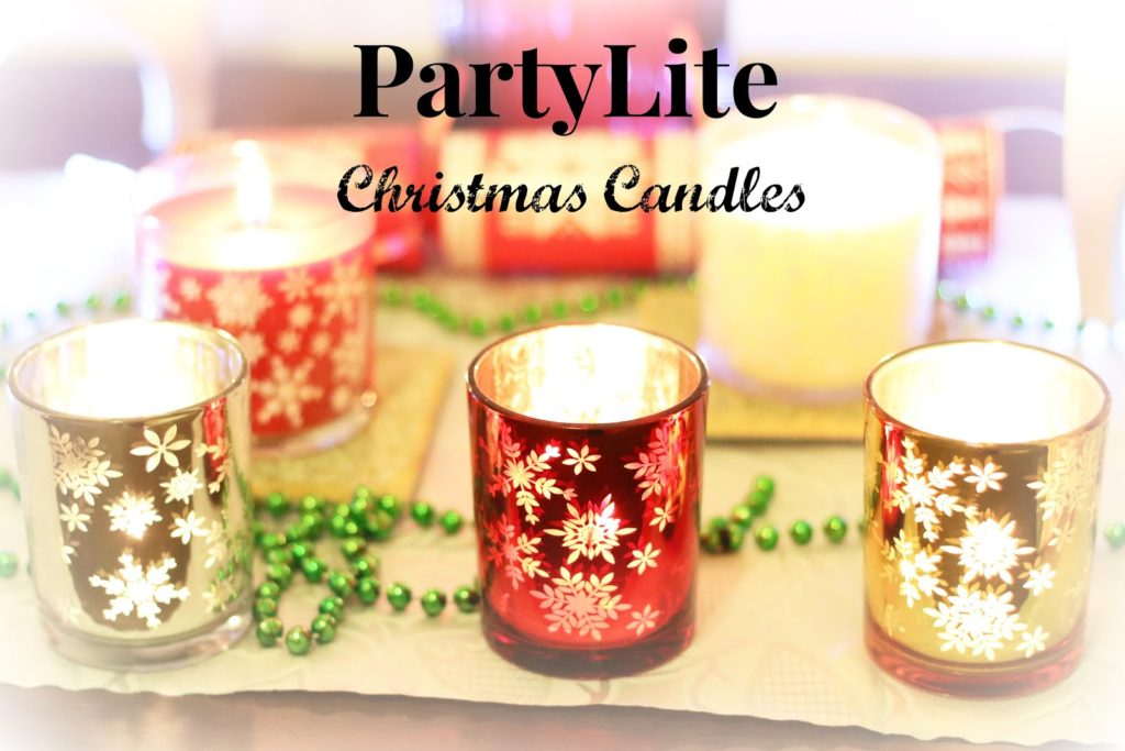 PartyLite Christmas Candles Review