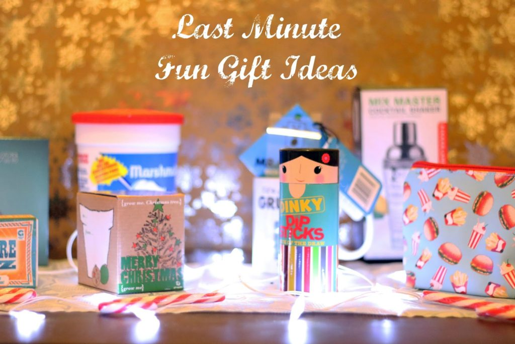 Last Minute Fun & Cheap Christmas Gift Ideas