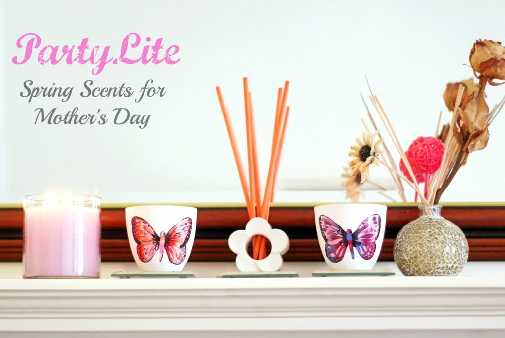 PartyLite Candles – Spring Scents for Mother's Day