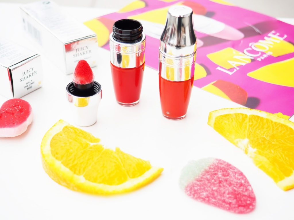 Lancôme Juicy Shaker Review and Swatches: Walk The Lime & Great-Fruit