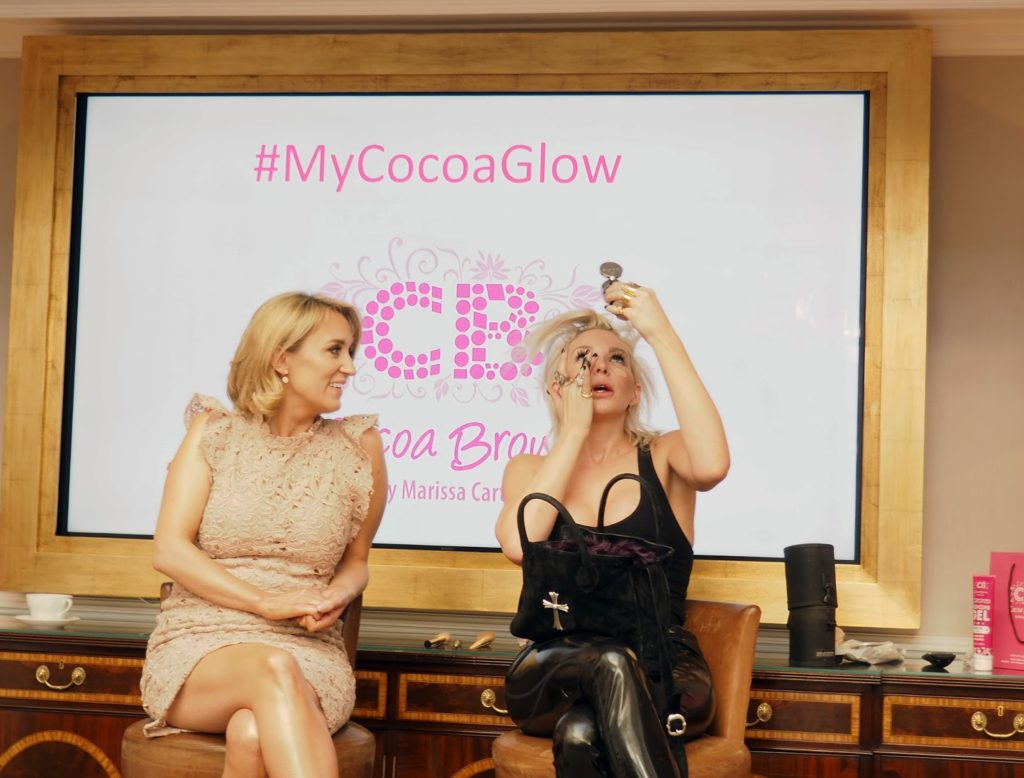 Cocoa Brown Masterclass & Golden Goddess Oil Review - Joyce Bonelli's interview with Marssa Carter