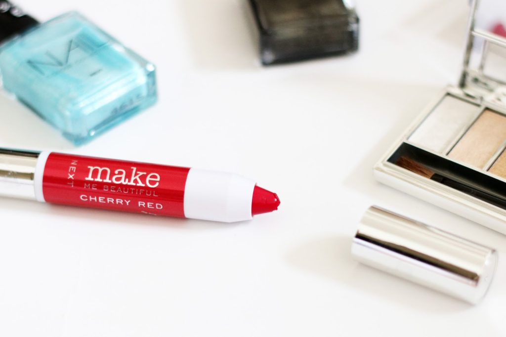 Next Beauty Event And Product Review - Next Beauty Make Me Beautiful Cherry Red Lip Chubby (£8)
