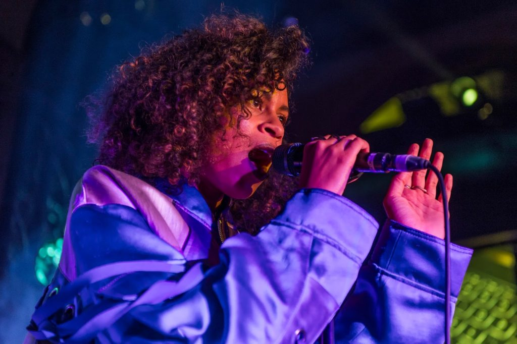 Jack Garratt & AlunaGeorge Exclusive Gig with HP Lounge - AlunaGeorge