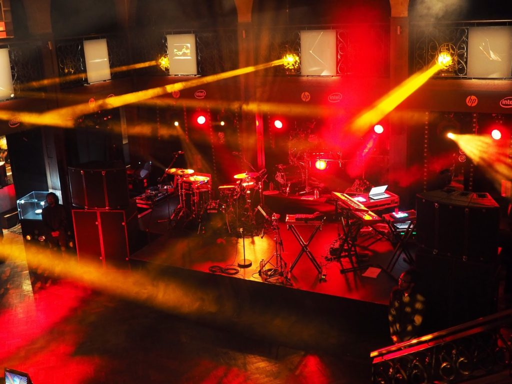 Jack Garratt & AlunaGeorge Exclusive Gig with HP Lounge - Set up