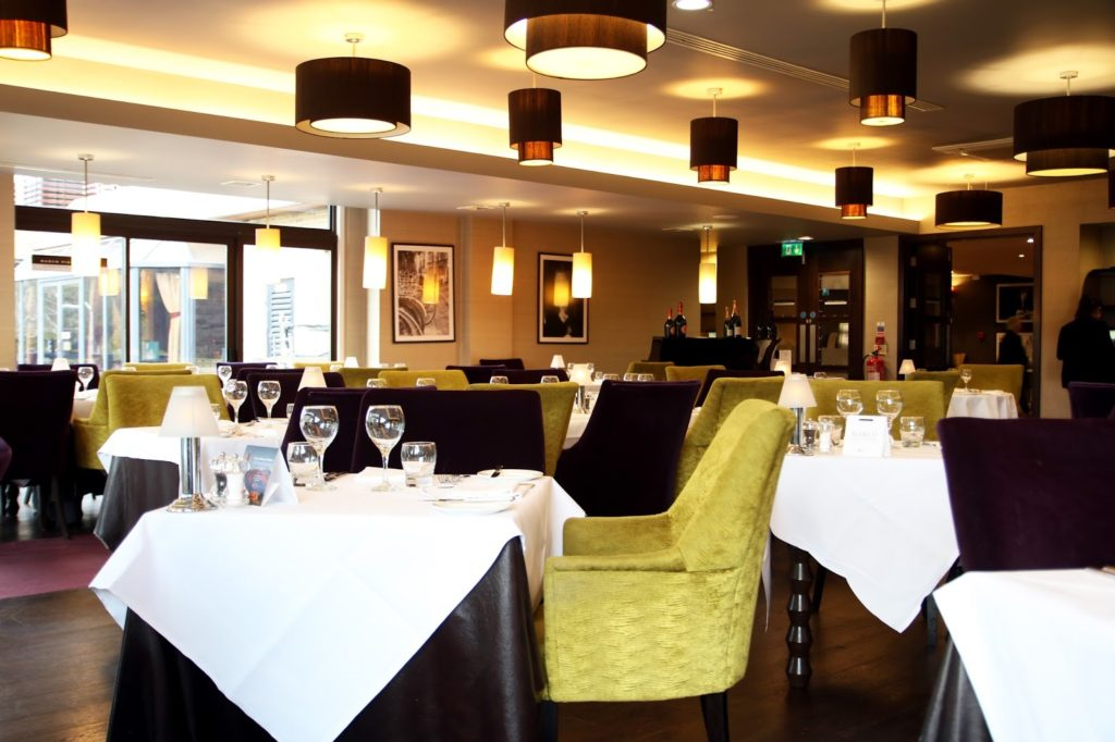 Dining at Marco Pierre White Steakhouse Double Tree by Hilton Cambridge