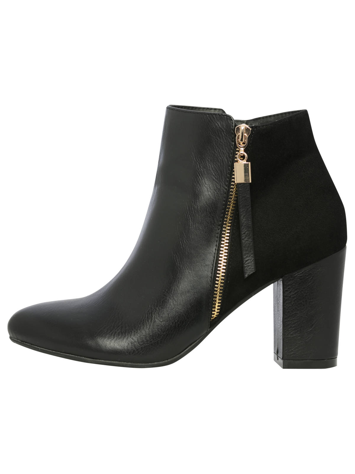 Block Heel Zip Ankle Boots £39.50 (2)