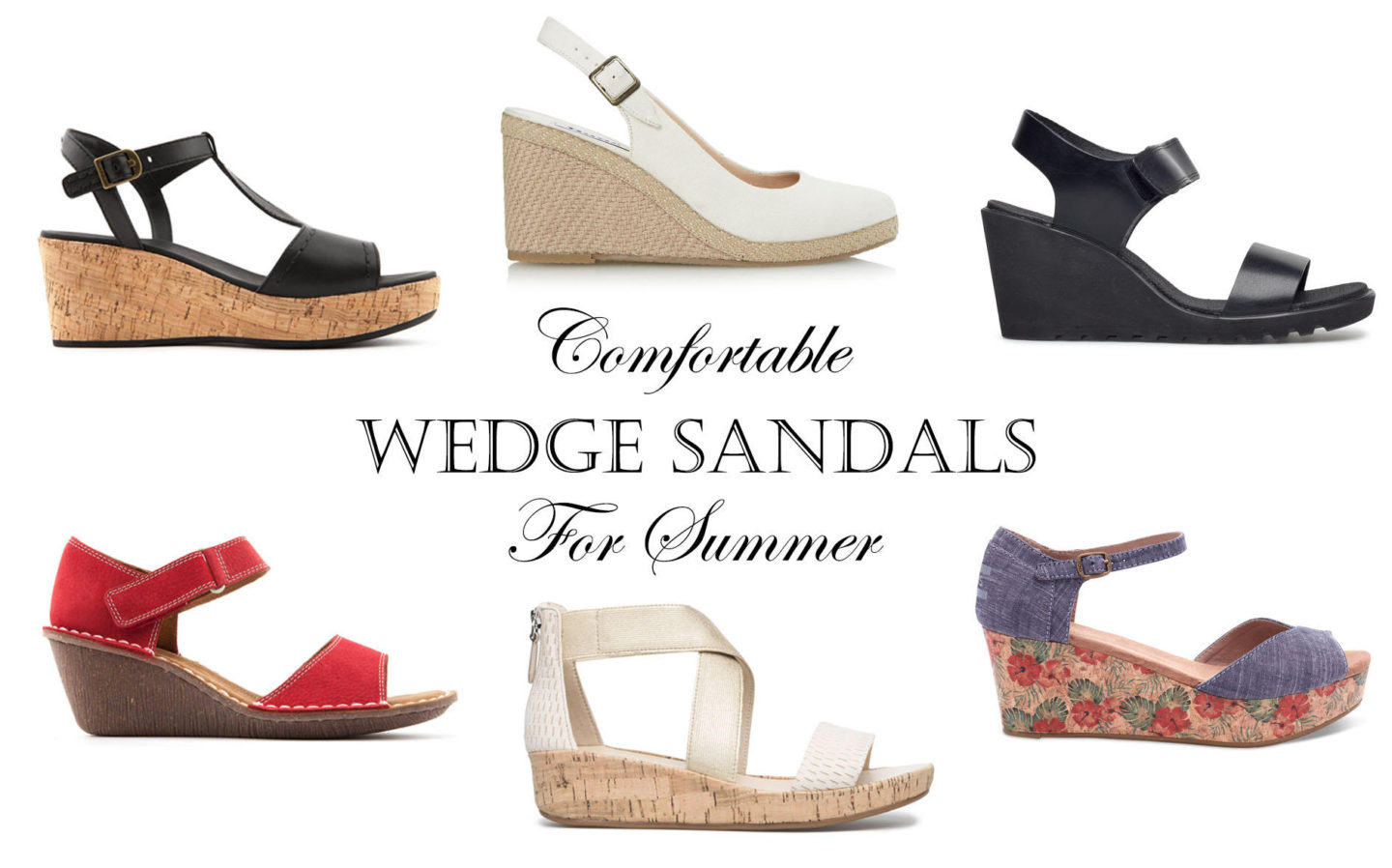 Top Destinations for Comfy Wedge Sandals