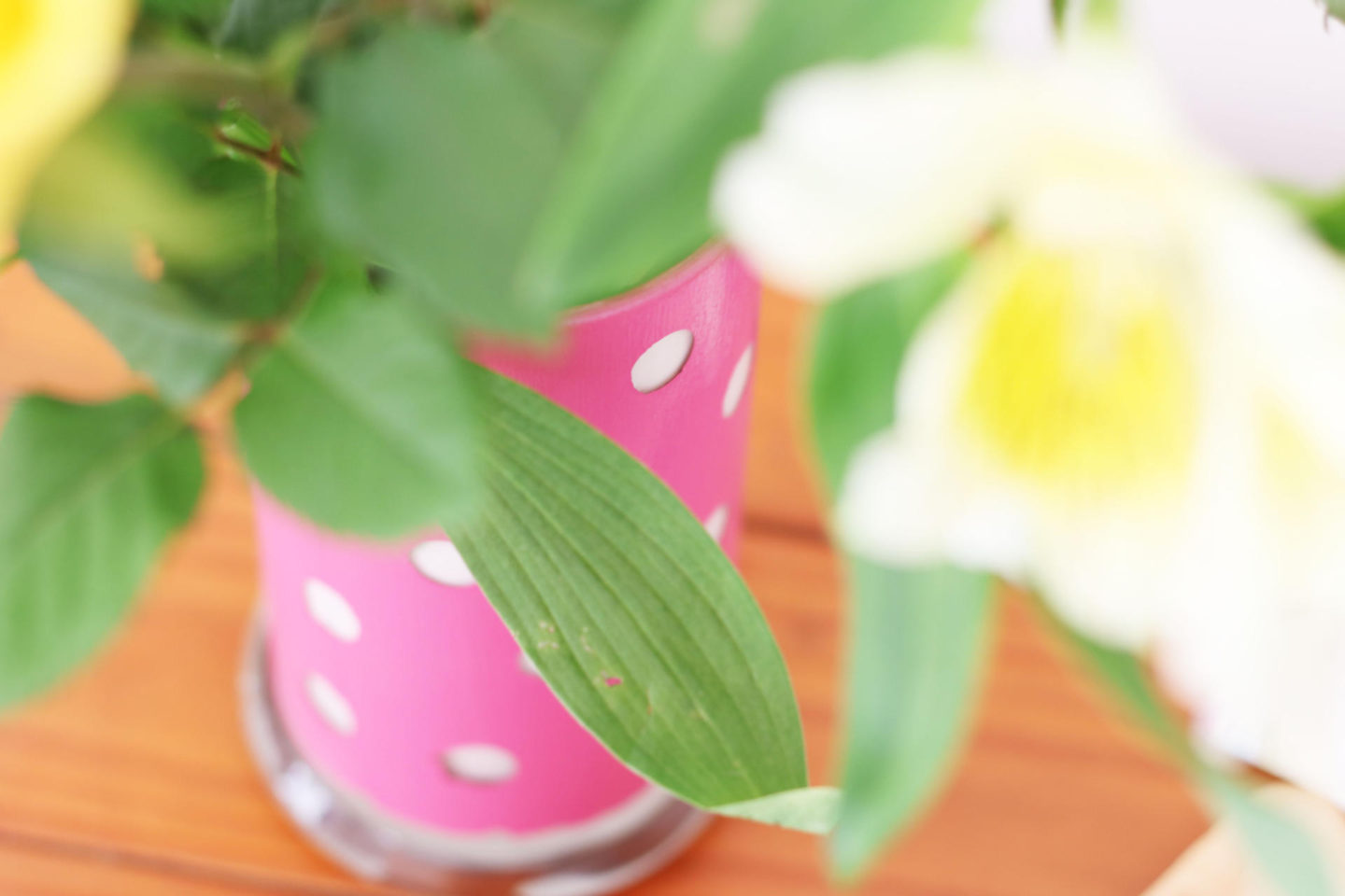 Flower Vase DIY - 3 Simple Upcycling Projects for British Flower Week. From Candle Jar to Flower Vase