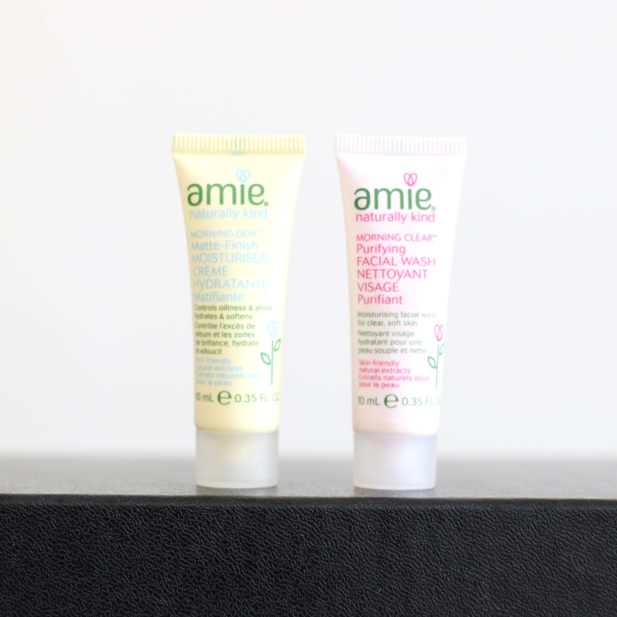 Latest in Beauty Build Your Own Box Review - Amie Morning Clean Facial Wash & Morning Dew Moisturiser Duo