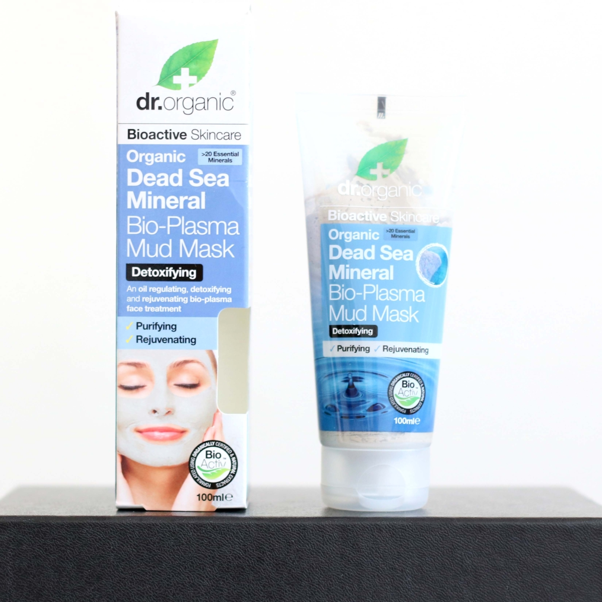 Latest in Beauty Build Your Own Box Review - Dr Organic Dead Sea Mineral Bio-Plasma Mud Mask