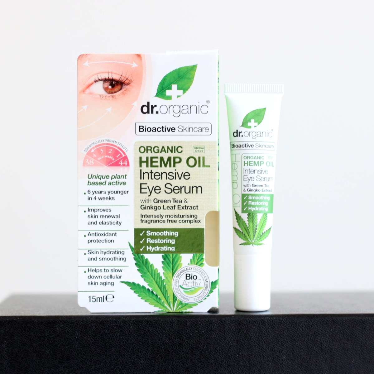 Latest in Beauty Build Your Own Box Review - Dr Organic Hemp Oil Intensive Eye Serum
