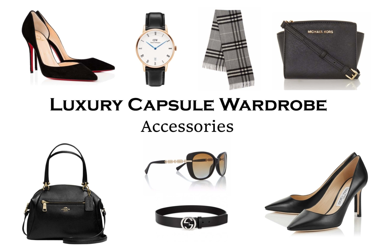 Building a Luxury Capsule Wardrobe - Accessories Editition