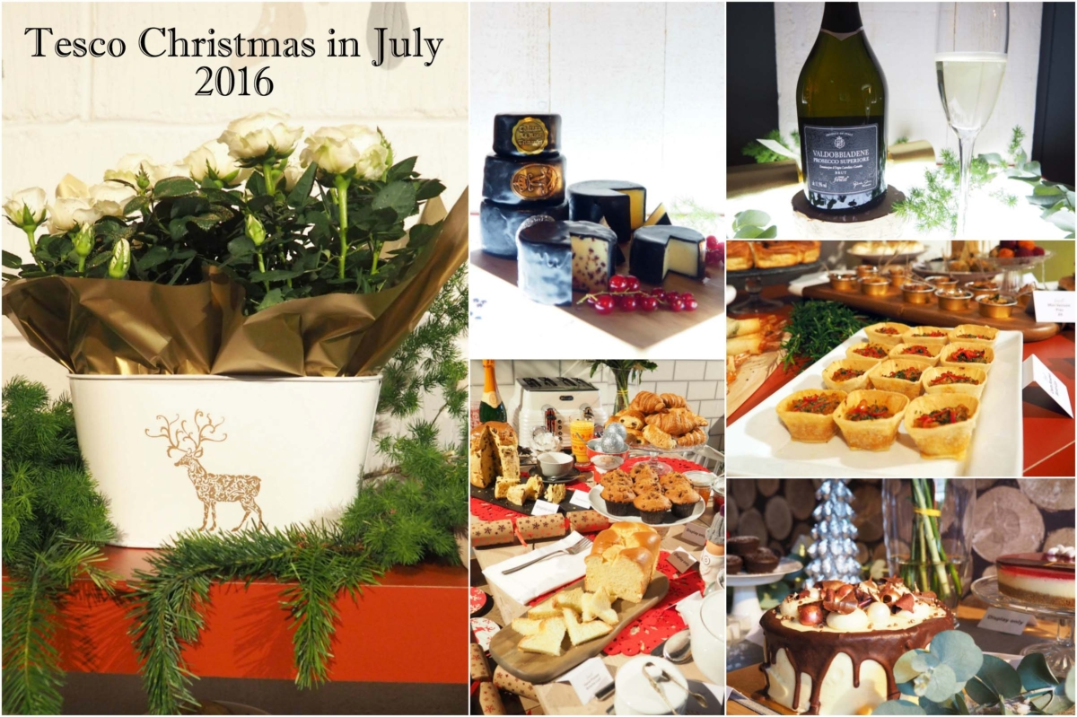 Tesco Christmas in July 2016 – 25 Days of Christmas