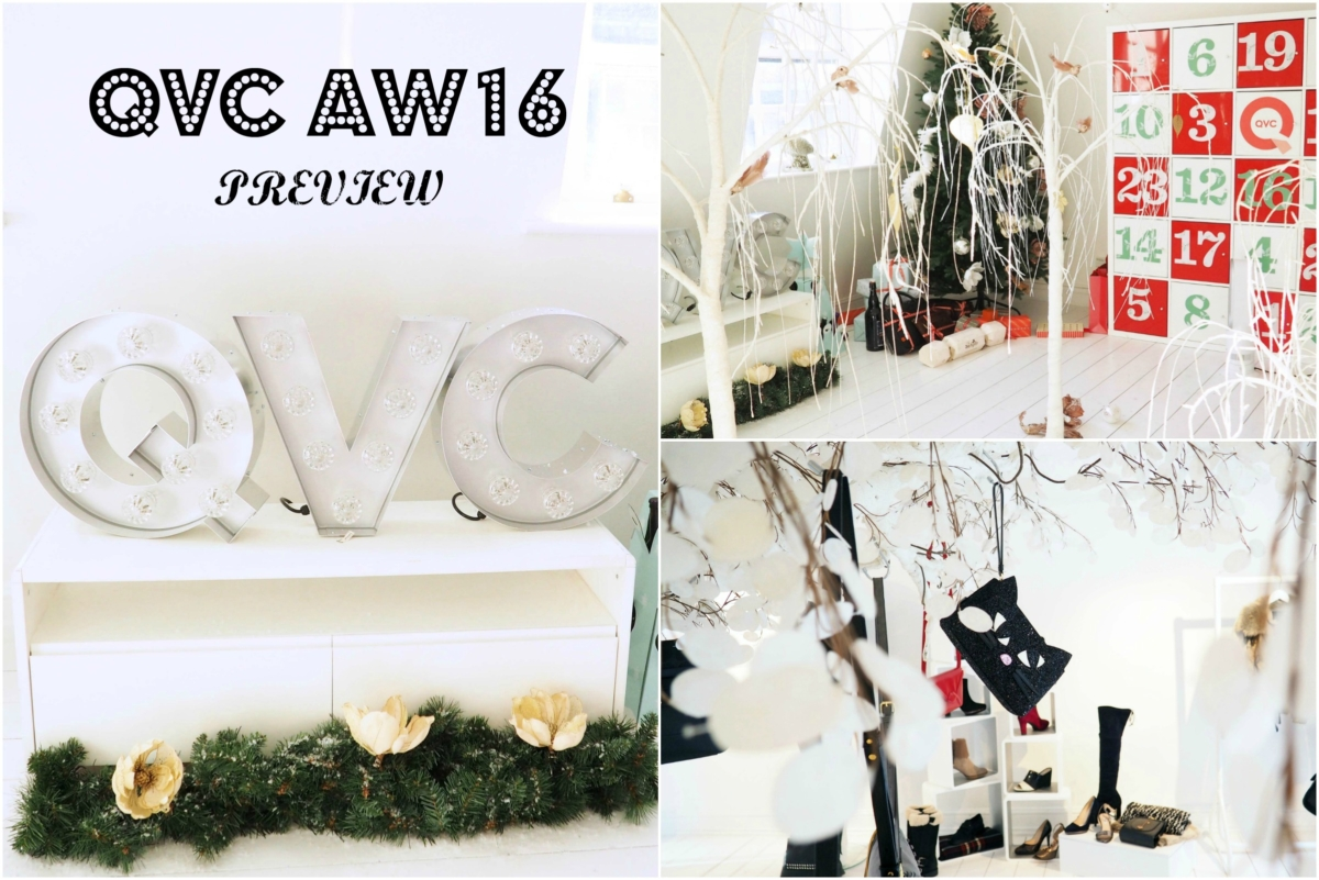 QVC AW16 Press Day - Beauty, Fashion, Jewellery & Howeware