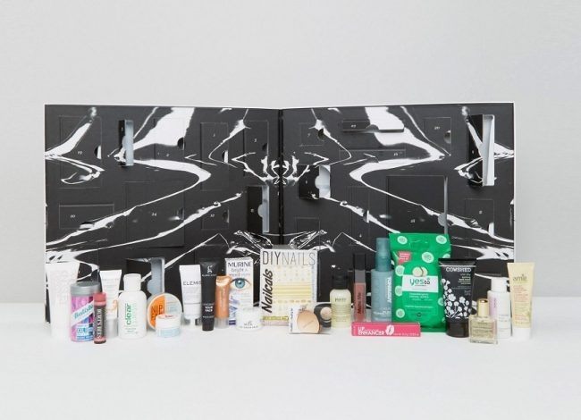 ASOS Beauty Advent Calendar 2016 content