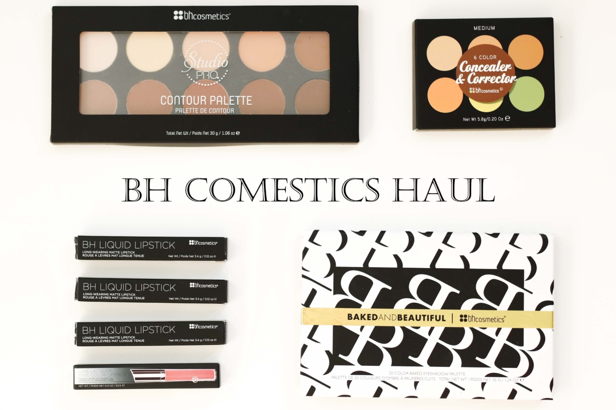 BH Cosmetics Haul with Review and Swatches