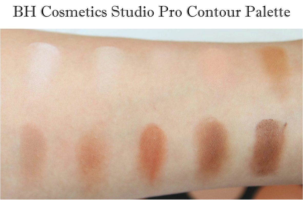 BH Cosmetics Studio Pro Contour Palette Review and Swatches
