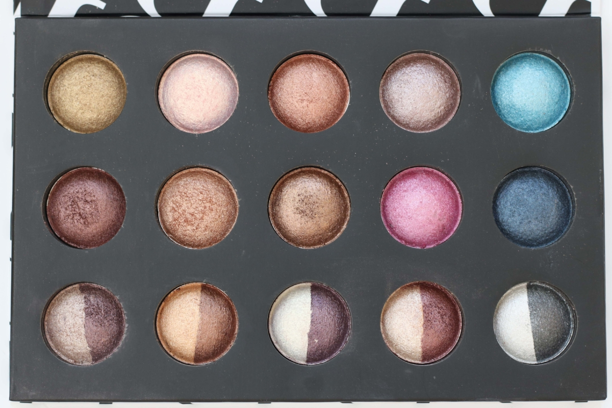 BH Cosmetics Baked and Beautiful Eyeshadow Palette Review