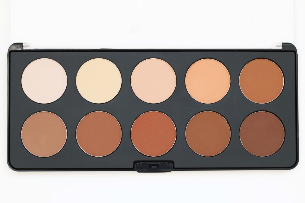 BH Cosmetics Studio Pro Contour Palette Review