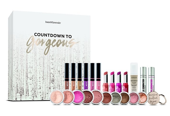 Bare Minerals Advent Calendar - Countdown to Gorgeous 2016 Content