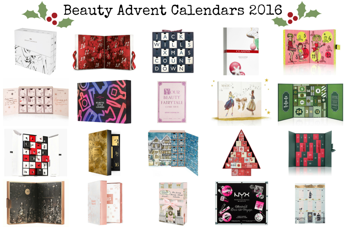 UK Beauty Advent Calendars 2016