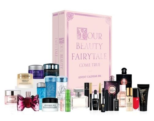 Boots Luxury Beauty Advent Calendar - Your Beauty Fairytale Come True 2016 content